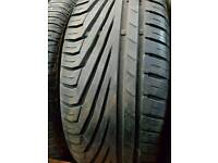 FREE FITTING UNIROYALE 205 55 16 TYRE 6MM TREAD