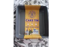 HAIRY BIKERS WORLD CAKE TIN
