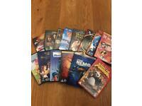 Collection of 14 Different Disney Pixar DVD's