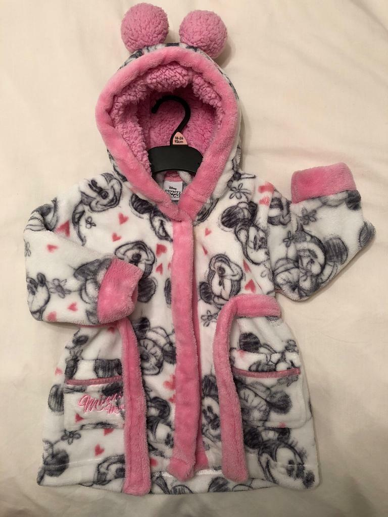 New Disney Minnie Mouse Dressing Gown 9-12months | in Plymouth ...