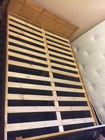 Pine bedframe