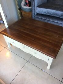 Laura Ashley Bramley Coffee Table Excellent Condition