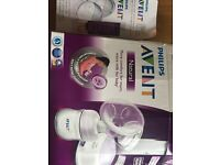 Electronic breast pump and 2 in 1 breast shells
