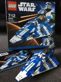 Lego StarWars 8093 - Plo Koon's Jedi Starfigher
