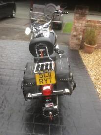Harley Davidson softail heritage bike