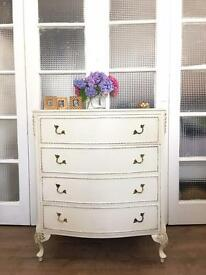 FRENCH STYLE CHEST FREE DELIVERY LDN🇬🇧SHABBY CHIC
