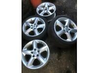Vauxhall Astra 17 alloys