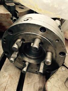 "lathe chucks, 10"" 3 jaw, BISON, D1-6 camlock spindle mount"