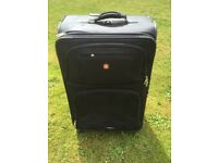 Huge Swiss Gear black spinner suitcase