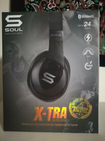 Soul X-TRA SOUL X-TRA Over-Ear Sports Headphone Bluetooth Black