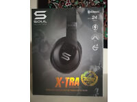 Soul X-TRA SOUL X-TRA Over-Ear Sports Headphone Bluetooth Black