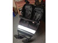 Mountain Buggy Duet Pram + 1 x carrycot - £115
