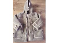 2 - 3 Years Sheepskin style Duffle Coat