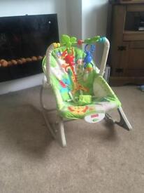 Fisher Price vibrating rocker chair