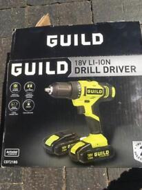 Cordless drill driver 18 v