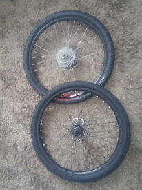 26inch Rear Super Star XC 430 Wheel with Front wheel