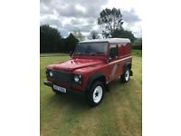 1994 LANDROVER DEFENDER 90 TDi. MECHANICALLY 100%, BODY GOOD FOR YEAR. £7500