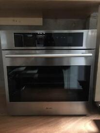 Caple c2150ss stainless steel self cleaning oven new x display WOW