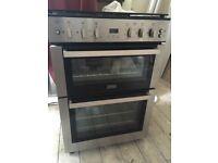 Stove Freestanding Multi-Fuel Double Oven - 60cm width - Excellent condition! £150