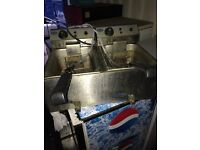 Ace electric double fryer