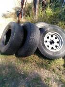 4x4 TYRES mostly 265 70R 16 Ipswich Ipswich City Preview