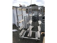 large metal racking