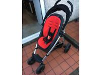 Phil & Ted's Smart baby stroller + Peanut carrycot