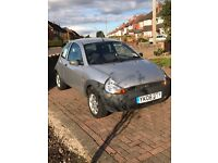 Ford Ka 59380 miles only with upgraded 15 inch alloy wheels