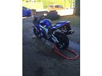 Yamaha r6 blue