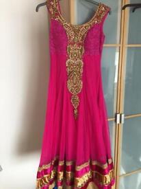 Indian dress suit, ladies clothing.