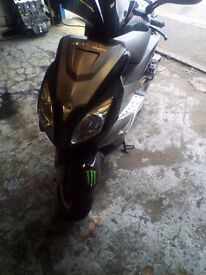 Unfinished project 50 to 125cc