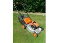 Flymo quicksilver petrol lawn mower