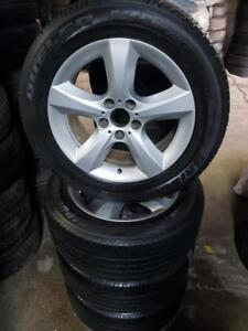 BMW x5 wheels and tires 18""