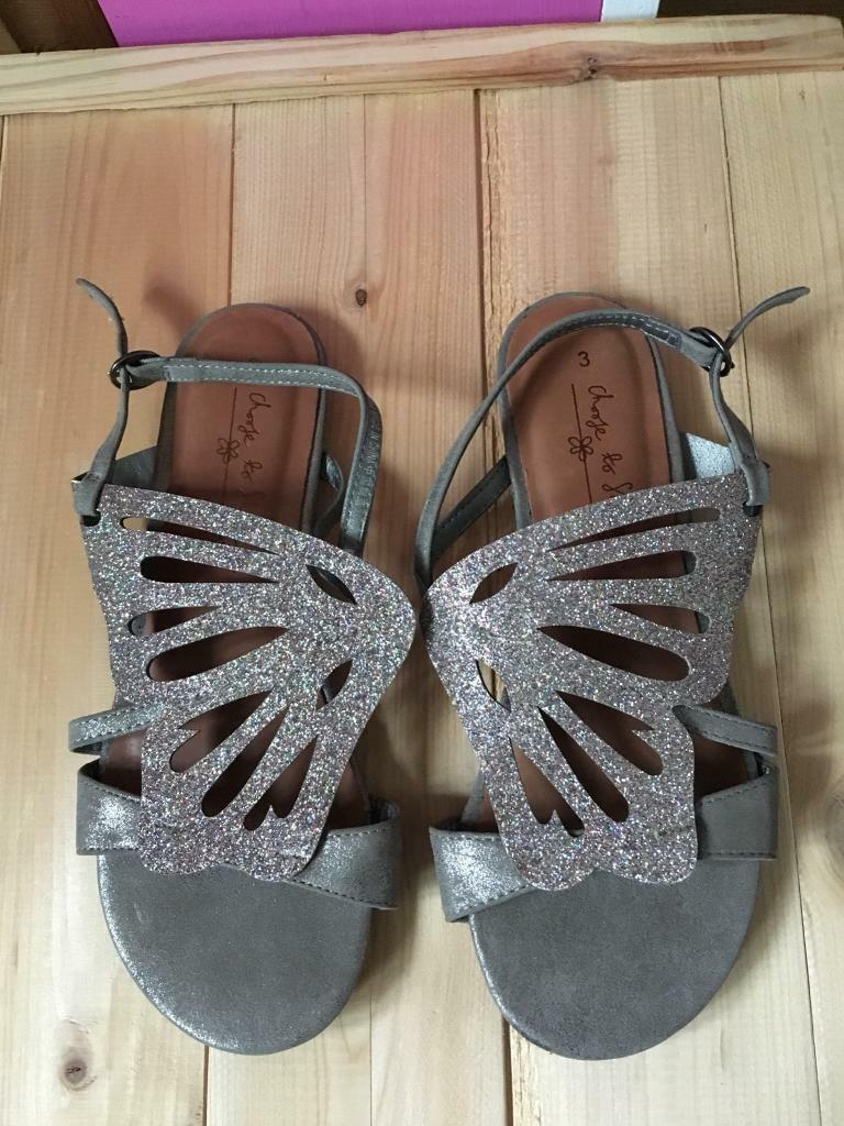 Next butterfly sandals Not worn size 3
