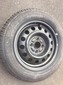 Toyota Corolla spare wheel tyre 185 65 R 15