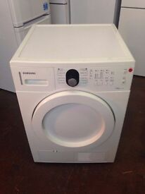 SAMSUNG 7KG CONDENSER TUMBLE DRYER RECONDITIONED