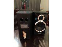 Wharfedale Diamond 10.1 Speakers (Pair) - Blackwood