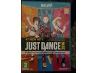 Just dance 2014 for Wii this is for the new wii