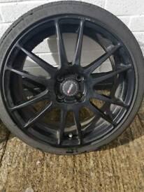 Alutec 4x100 17inch Alloys - Nankang Tyres