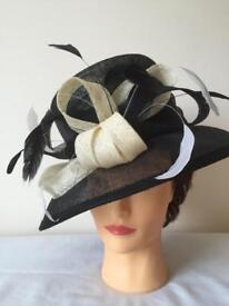 Special Occasion/ Wedding Hat with Hat Box