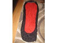 Storm shield sleeping bag