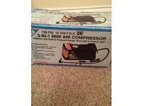 3-in-1 Mini Air Compressor