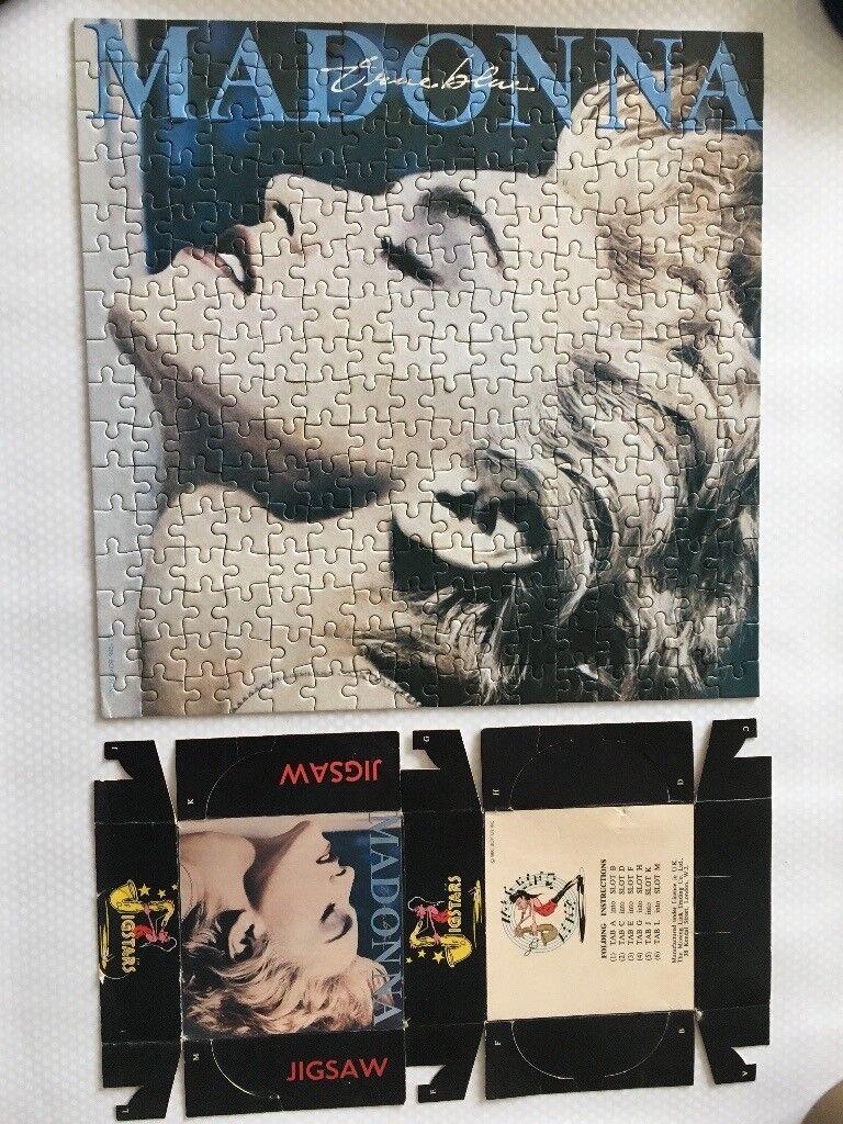 "Madonna ""True Blue"" 1986 Jigsaw"