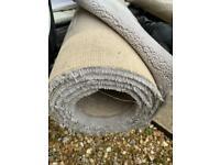 New Victoria carpets (Raven grey carpet roll-A grade carpet) Tudor twist collection 2,58m by 5.00m)