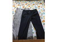 Men's suits 36w 32l