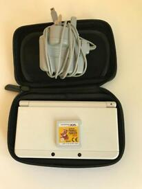 New Nintendo 3DS w/ Case, Charger & Mario Maker