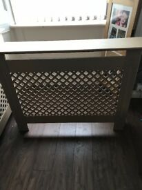 Two radiator covers