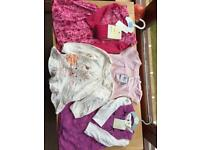 Brand new baby girl clothes (6-9 months)