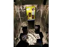 Auto pot systems gro tent 600w light kits gro light