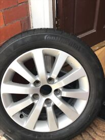 Honda alloy wheel